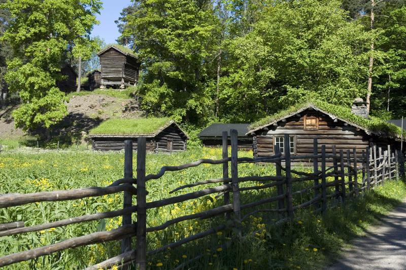 Gudbrandsdalssetra på Norsk Folkemuseum