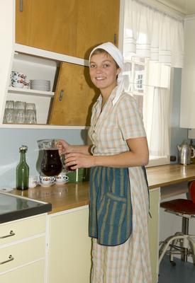 På kjøkkenet i Stiklestadlåna (Foto/Photo)