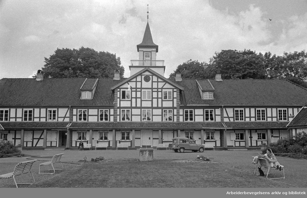Frogner hovedgård - Oslo Bymuseum. .Nå Oslo Museum..Juni 1970.