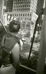 Bild tagen vid resa till USA i september 1977, då var det de