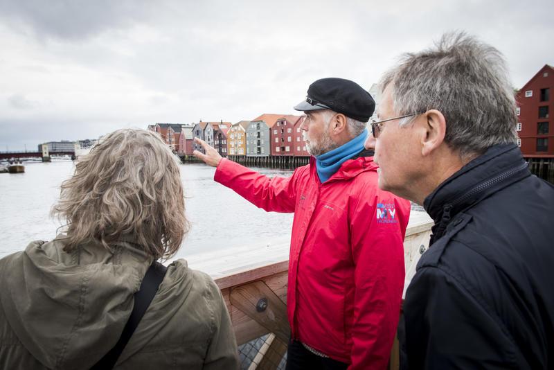 Maritim vandring i Trondheim