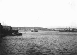 Hamnen i Havanna. Mars 1920.