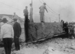 Cyclon i Havanna. Sept. 1919