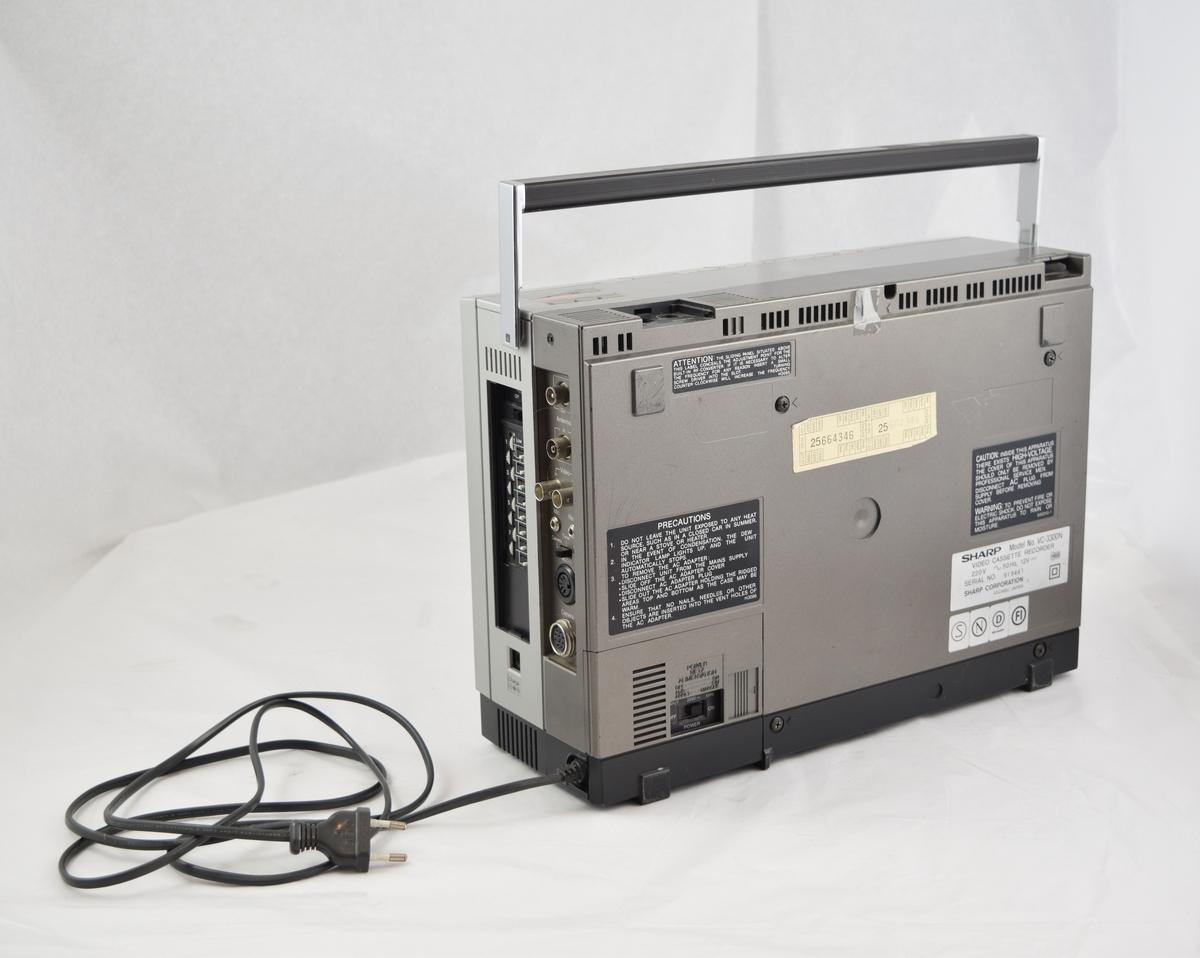 Videoopptaker til VHS-kassetter fra Sharp.