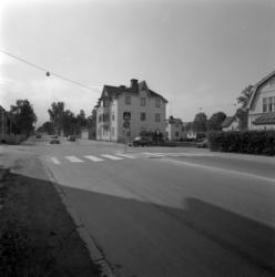 Gatuvyer kring kvarteret Debet (Bergsgatan, Esplanaden, Östr