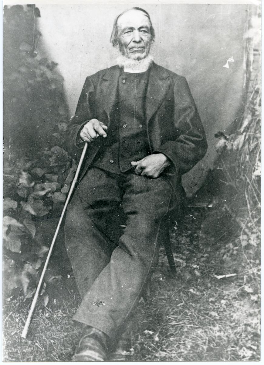 Portrett av Peder Bruskerud.