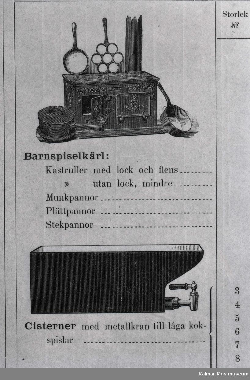 Ankarsrums bruks gjuteritillverkningar.
