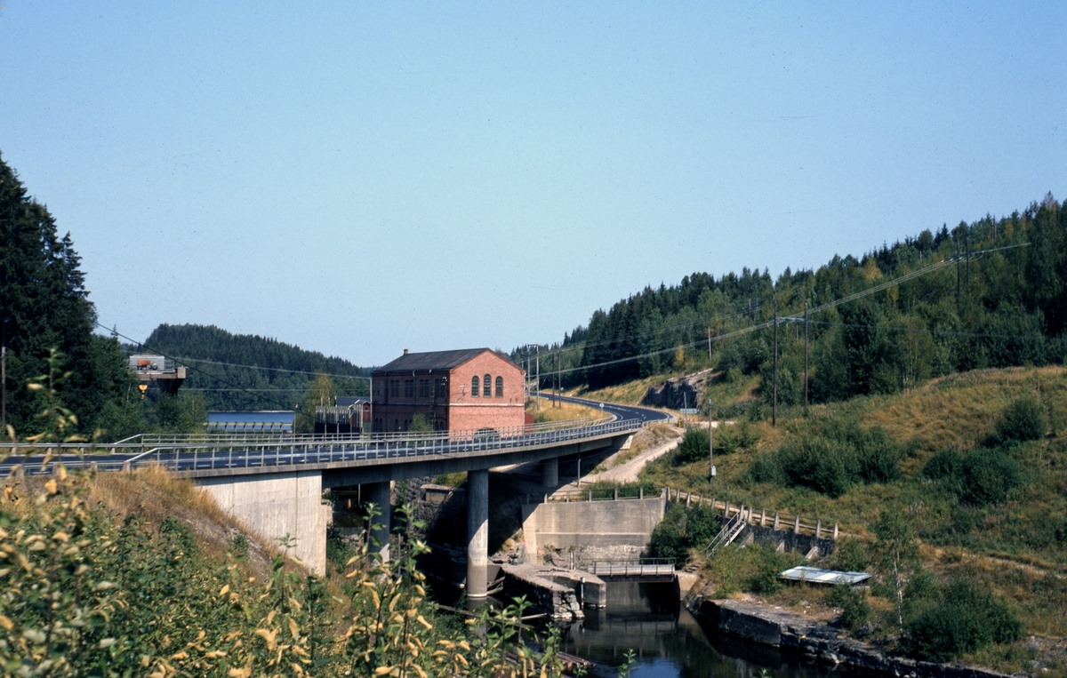Frykfors kraftstationen  1982.