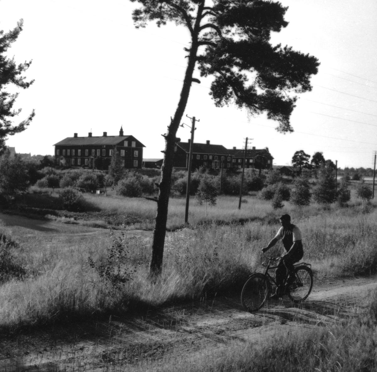 Orrholmsvy från slutet av 1950-talet.