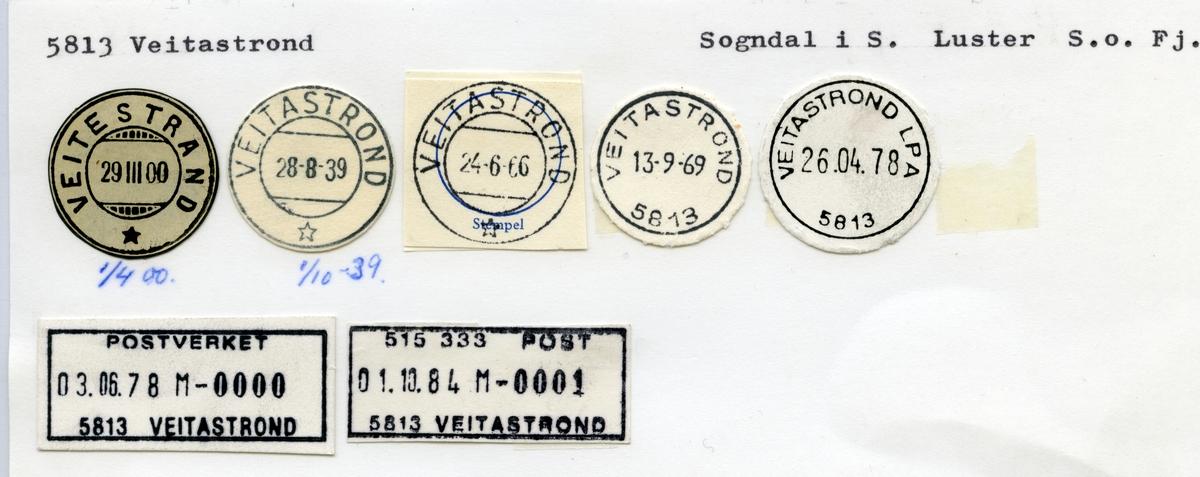 5813 Veitastrond (Veitestrand), Sogndal, Luster, Sogn og Fjordane