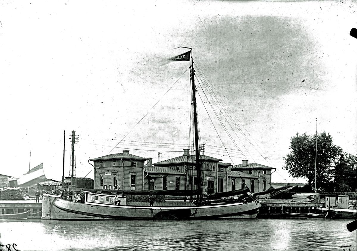 Hollänskt segelfartyg, Zeemeeuw. Fotograf E Sörman.