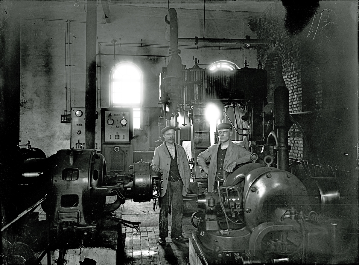 Industri-interiör
