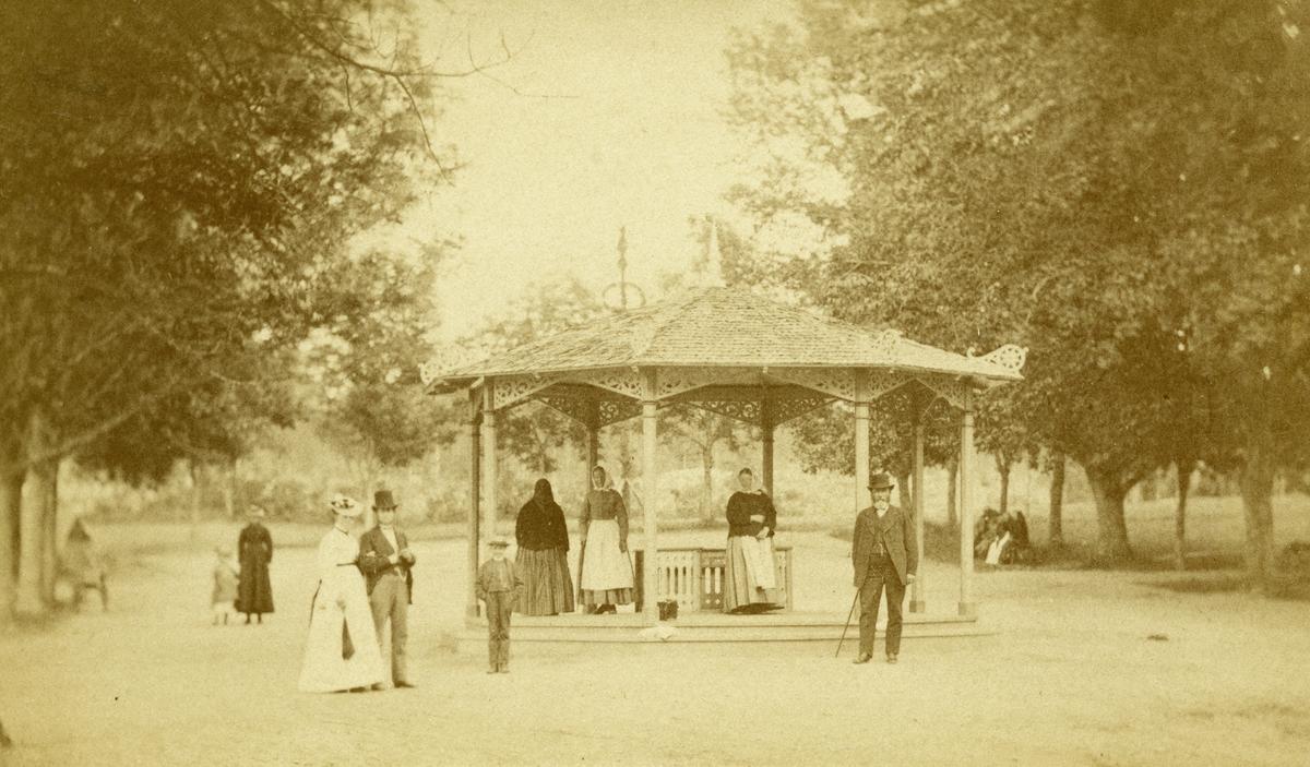 Johannisdal, år 1875. Fotograf  E. Dahlberg.