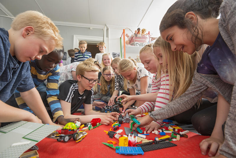 Far utstillingen Bare en lek, Kvinnemuseet. Foto: Bård Løken (Foto/Photo)