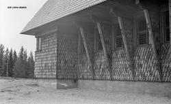 Gravberget kirke i Våler kommune i Hedmark.  Fotografiet vis