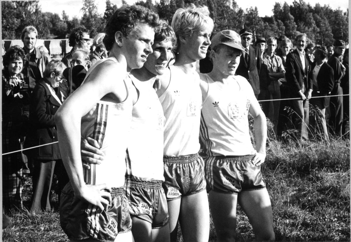 Modern Femkamp VM, Jönköping. Löpare.