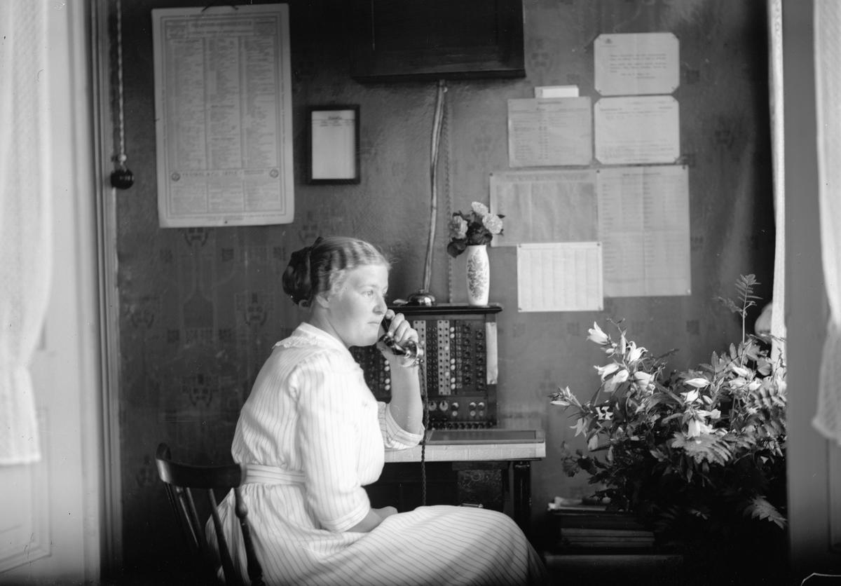 Telefonist Linda Katrina Eugenia Svedberg.