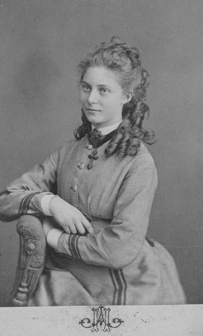 Fröken Clara Bäcklin.