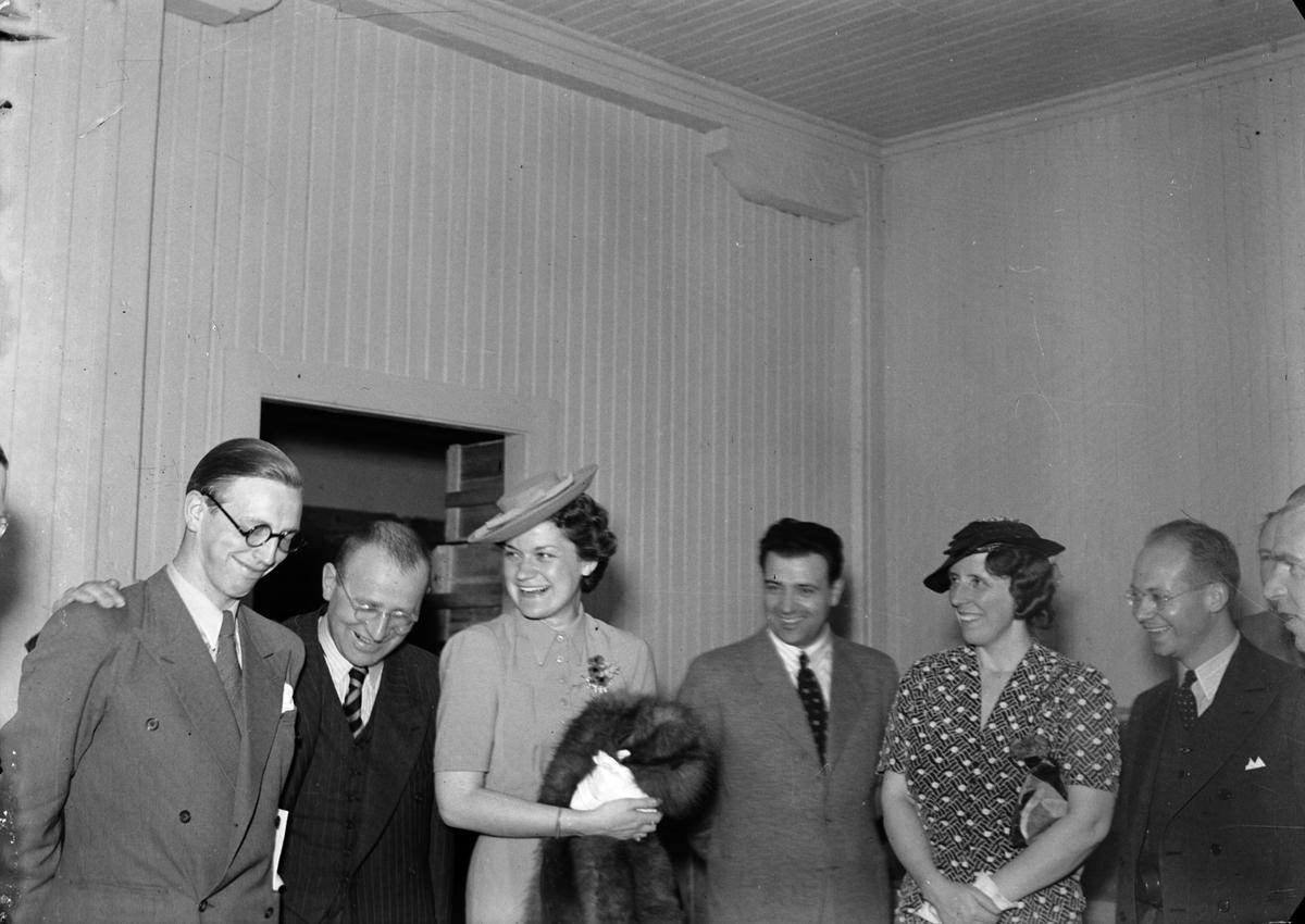 Utländska pressmän. Juni 1939