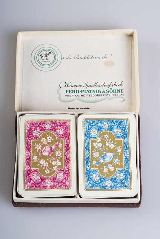Kirsten Flagstads private kortstokker