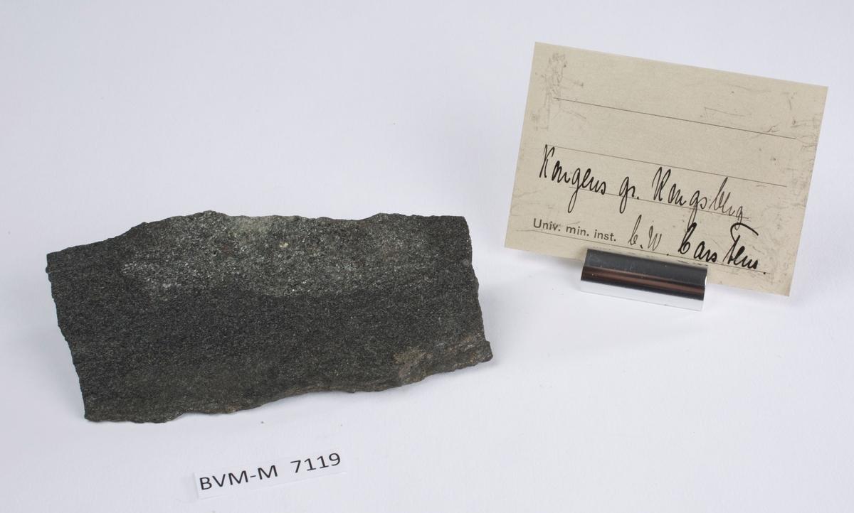 Etikett i eske: Kongens gr. Kongsberg C.W. Carstens
