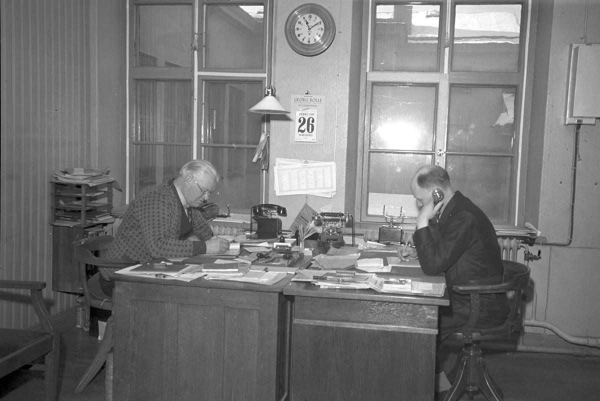 Tryckeri Kontor  15 november 1940