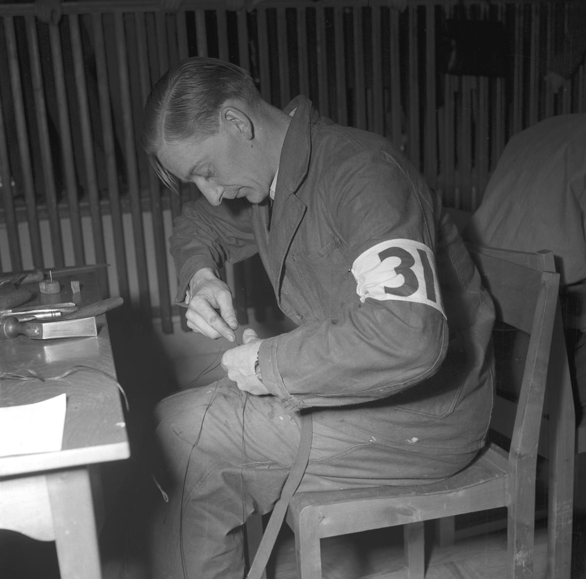 Hantverkstävlingarna på Rotundan Folket Park. 27 mars 1949.