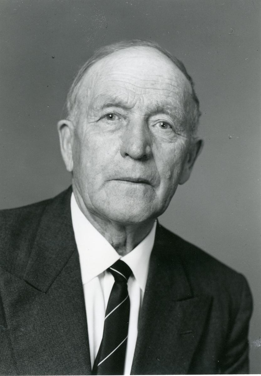 Dyrskuveteranen Olav Bakken.
