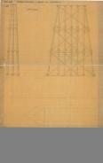 T.S.Jne. Størenbanen Modeltegning til bro over Sluppen i sand størrelse
