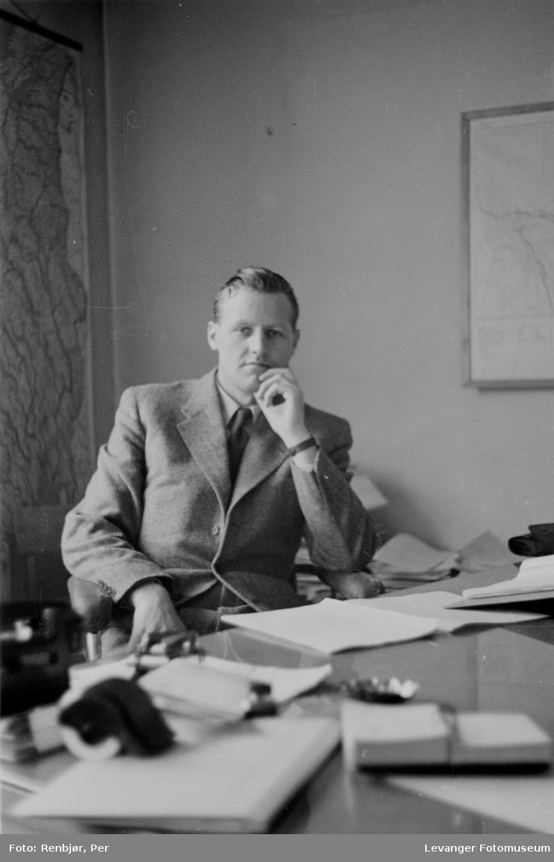 Rinnansaken, aktor i saken, Jon Lyng senere statsminister.