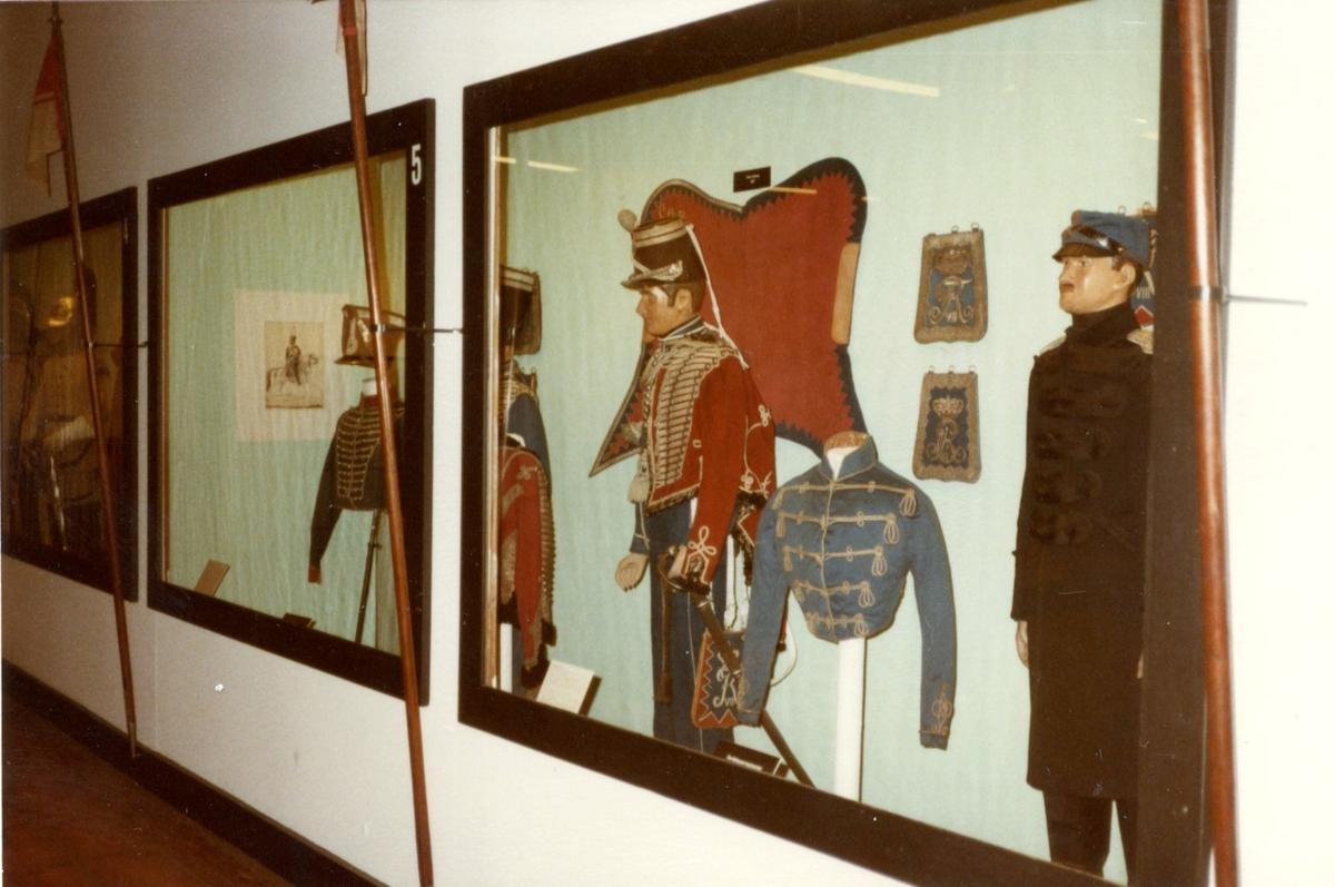Studiebesök på Töjhusmuséet, Köpenhamn. Uniformer.