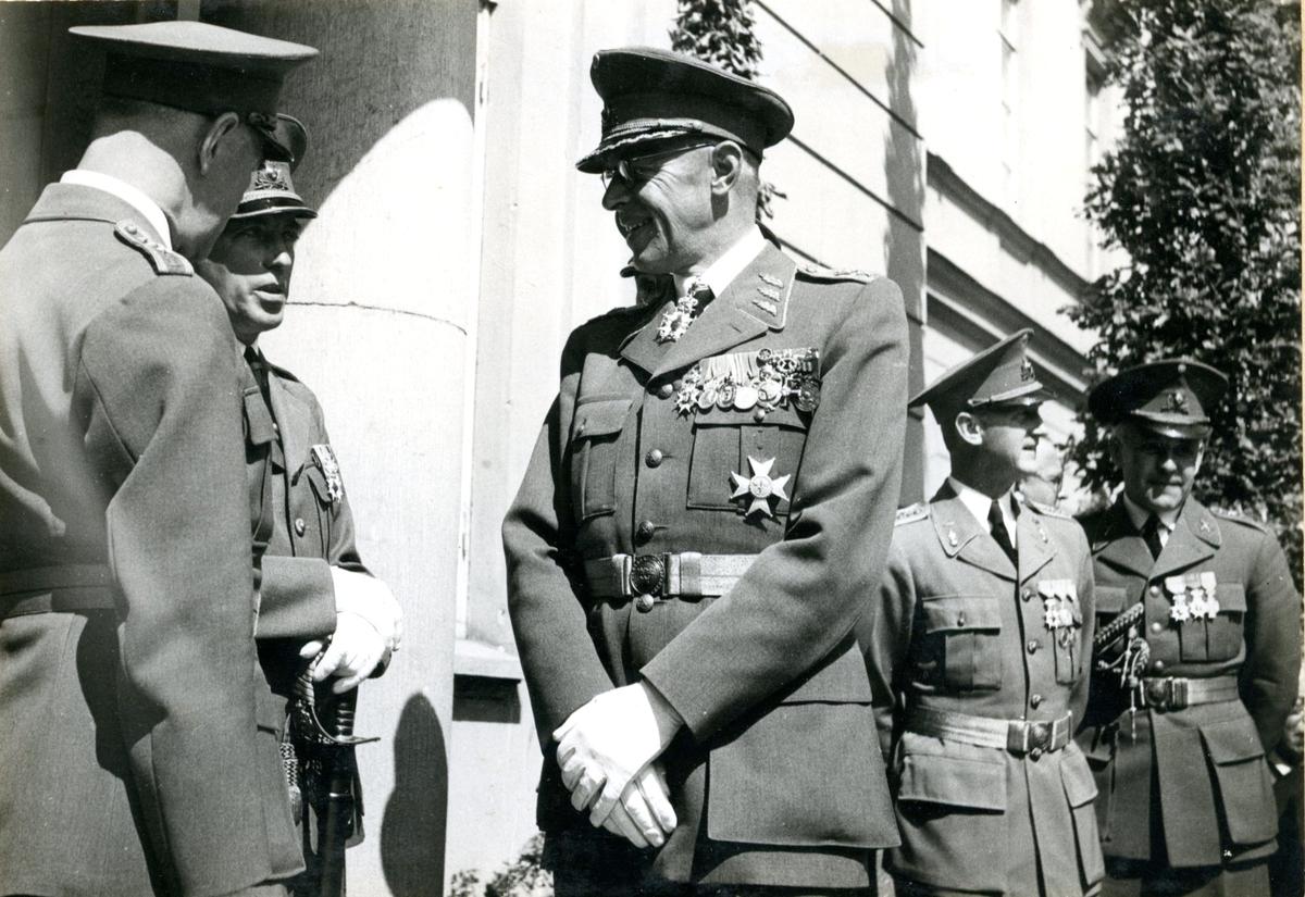 Jubileum 50 års, A 6. Generalmajor Viking Tamm, m fl.