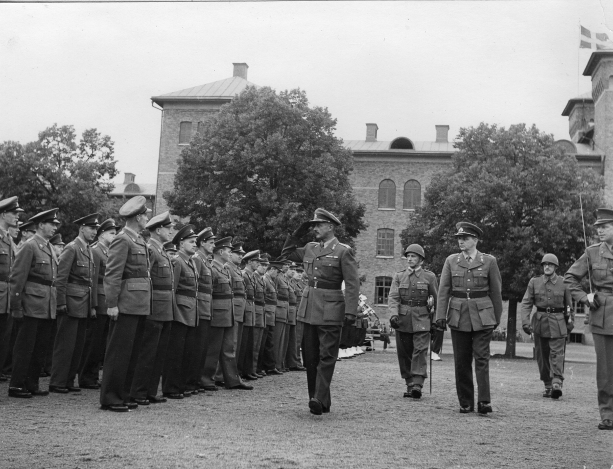 Regementschefen mottager regementet, A 6.