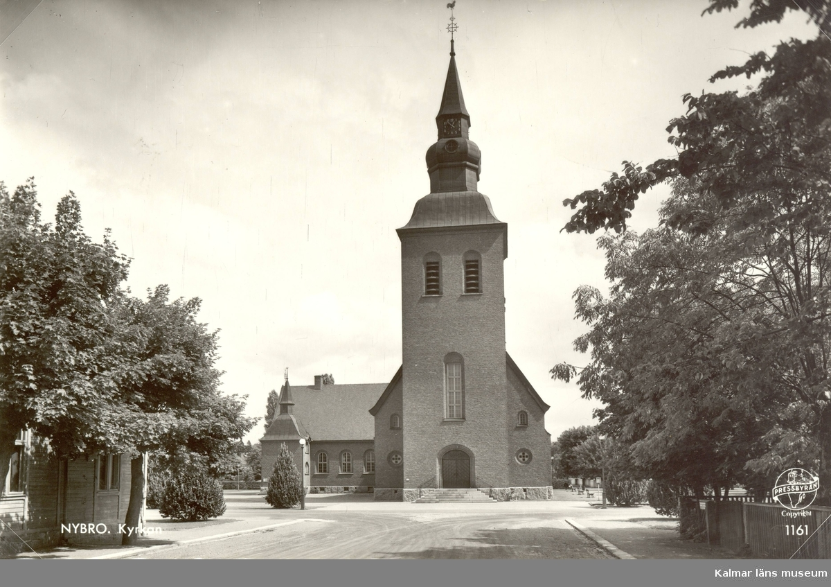 Nybro kyrka.