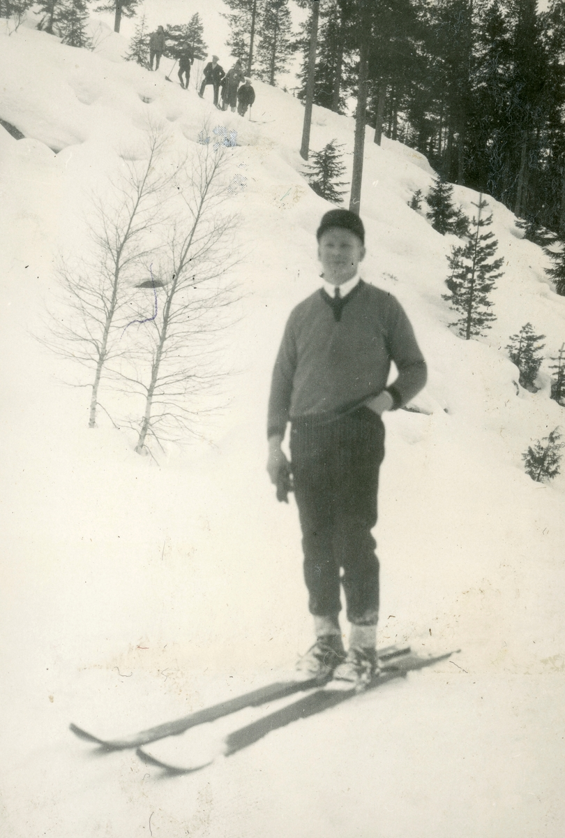 Kongsberg skier Hermann Ulleberg