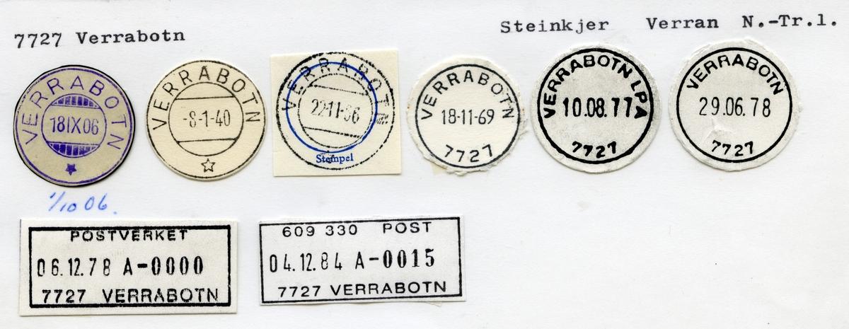 7727 Verrabotn, Steinkjer, Verran, Nord-Trøndelag