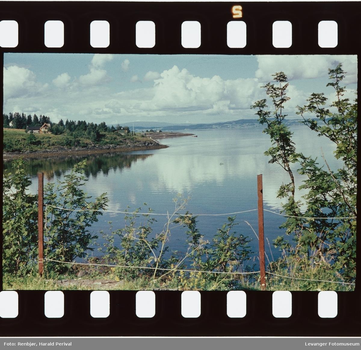 Fra Sjøbadet mot fjorden.