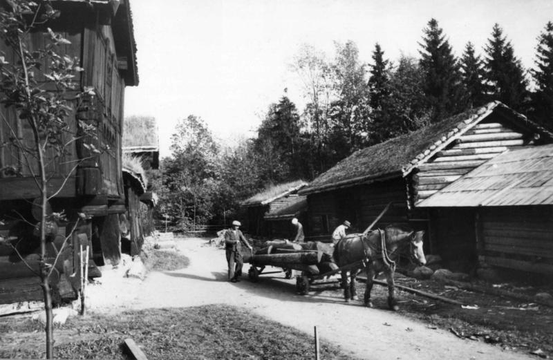 Setesdalstunet i 1942 (Foto/Photo)