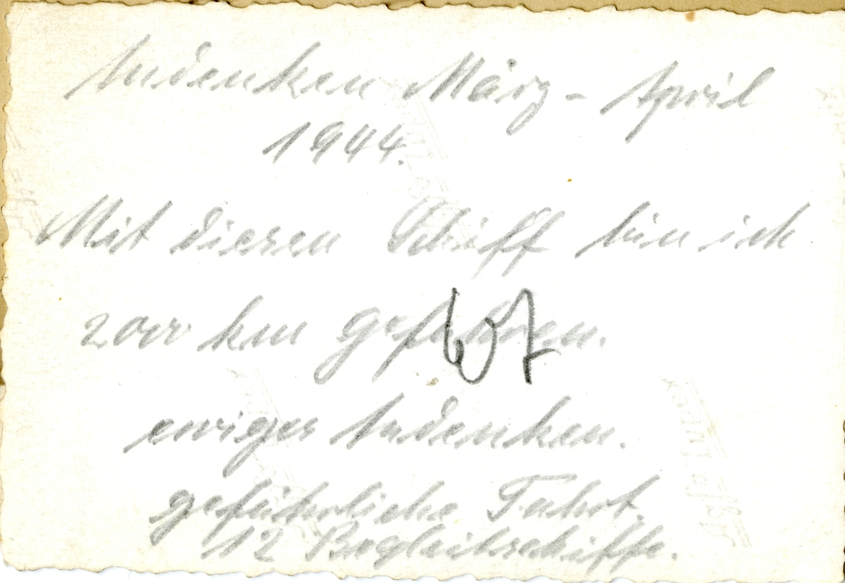 Motorskipet 'Rigel' (b.1924) til kai