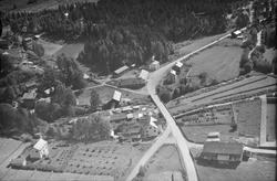 Ukjent sted, Øyer, 1953, tettsted, bolighus, jordbruk, slått