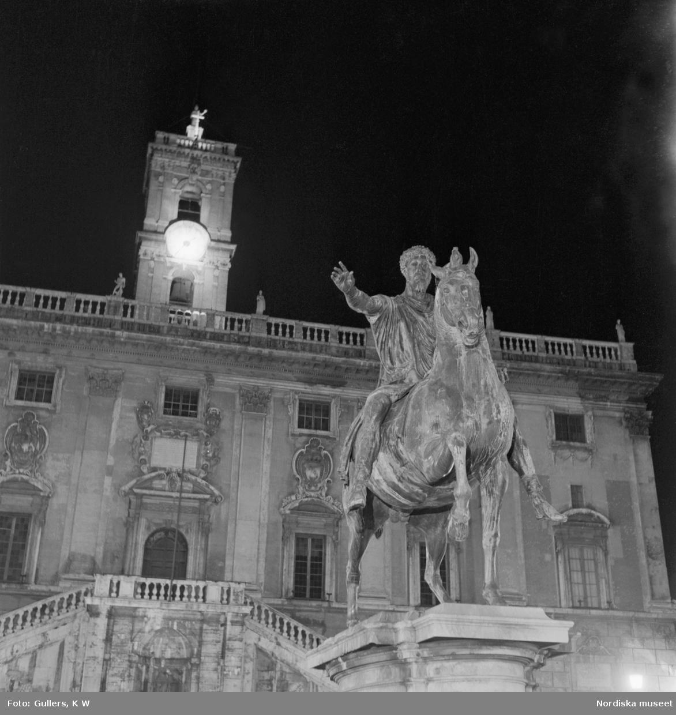 Staty av Markus Aurelius på häst