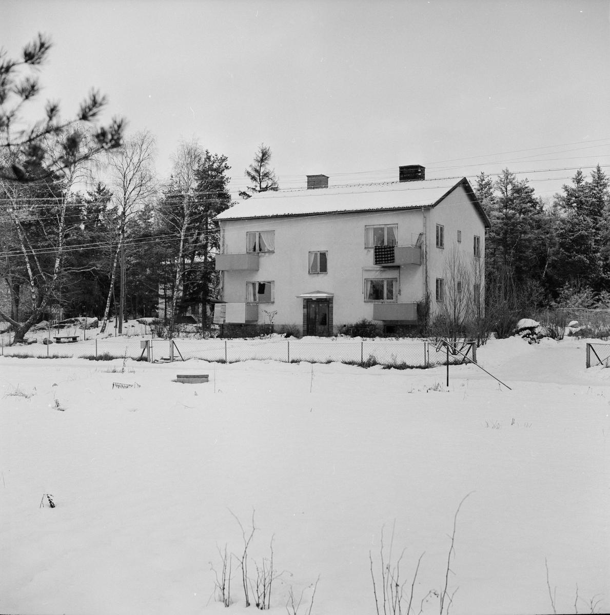 """""""Boningshus"""" Uppland januari 1961"""