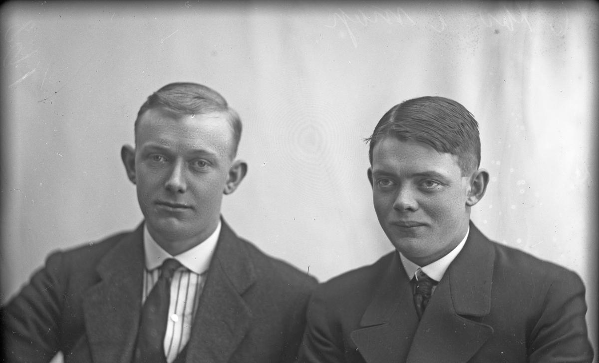Portrett av Thor Nilsen og Olaf Kluge.