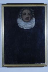 Sogneprest Thomas Boesen, portrett, Stange kirke.