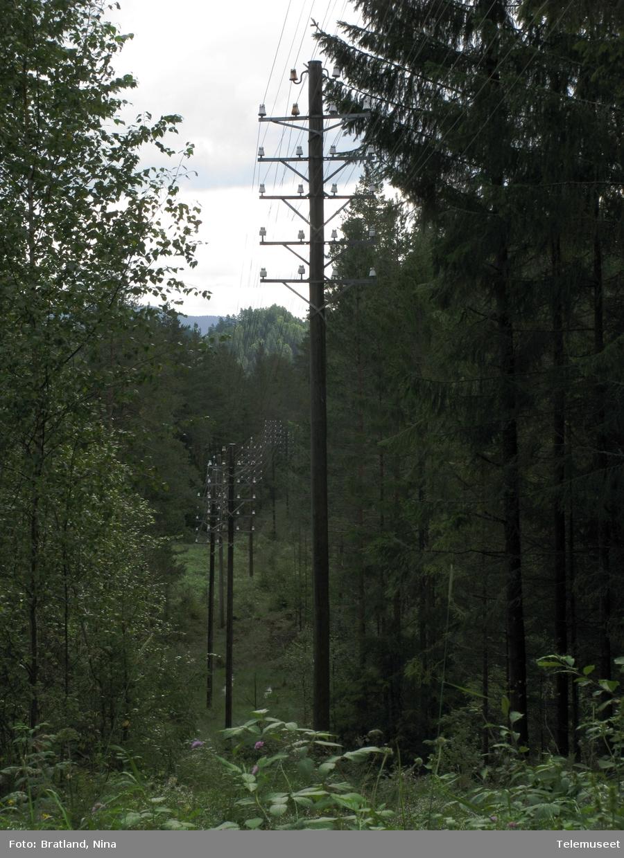 Fredet telegraf- og telefonlinje mellom Notodden og Hjartdal
