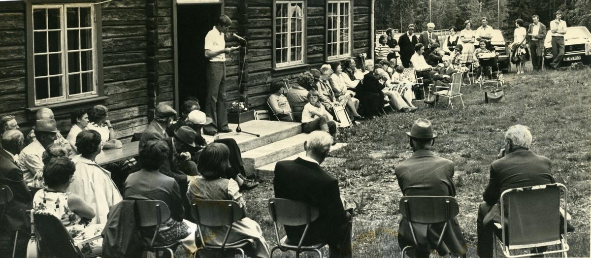 Stemne ved Bagn Bygdesamling 1980.
