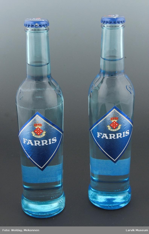 Farris flaske m/ innhold