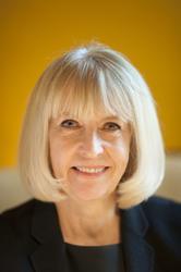 Porträtt Christina Mattsson på sitt tjänsterum, Styresman No
