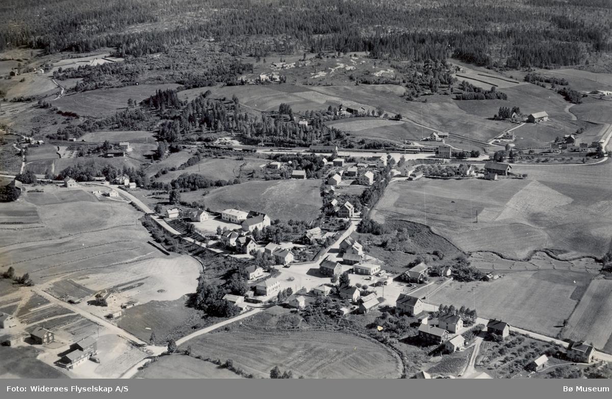 Flyfoto av Midtbygda-krysset