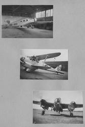 Fotoalbum från värnplikt på F 6 Västgöta flygflottilj under